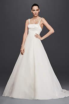 Truly Zac Posen Satin A-Line Wedding Dress