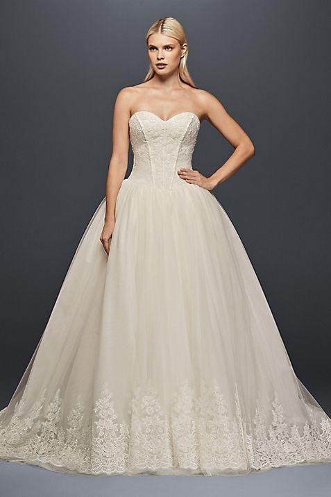 Truly Zac Posen Corset Wedding Ball Gown | David\'s Bridal