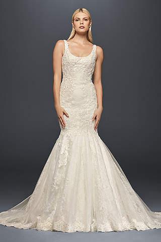 Plus Size Mermaid And Trumpet Wedding Dresses Davids Bridal