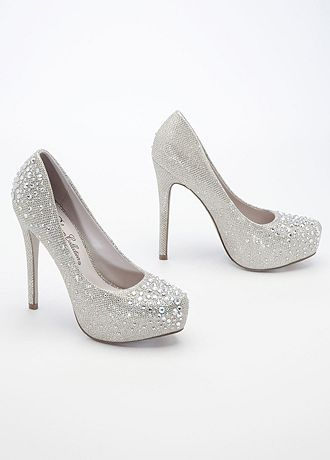 david bridal wedding shoes david s bridal wedding amp bridesmaid shoes glitter mesh 3314