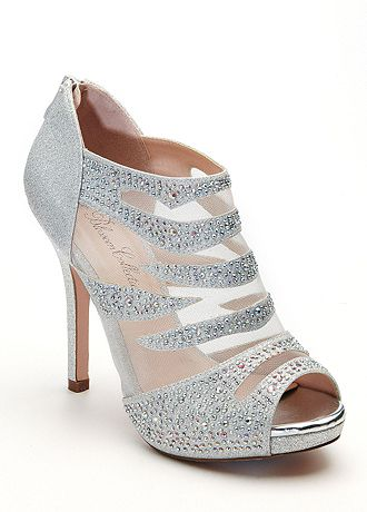 david bridal wedding shoes david s bridal wedding amp bridesmaid shoes mesh peep toe 3314
