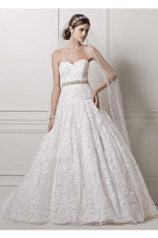 Wedding Dress Sample Sale in Various Styles   David\'s Bridal