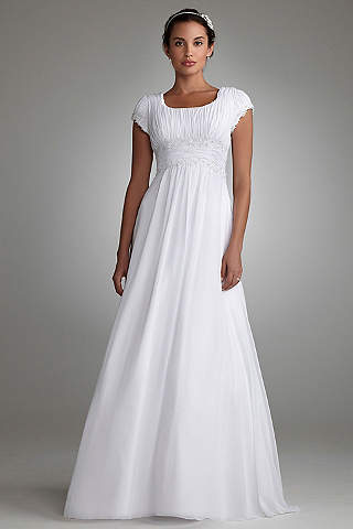 Modest Wedding Dresses & Gowns | David\'s Bridal