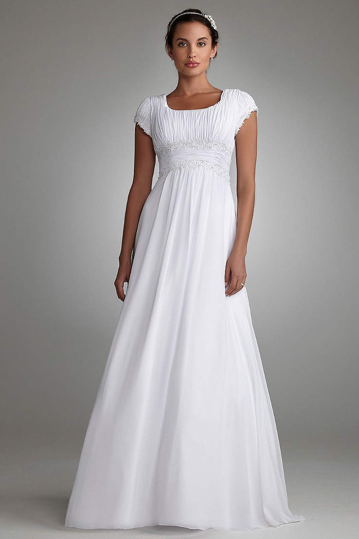 Empire Waist Wedding Dresses Gowns David S Bridal