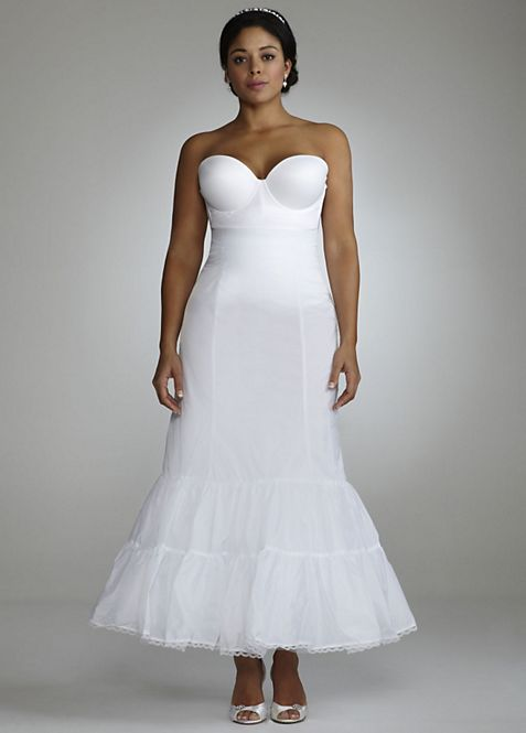 Full Fit and Flare Bridal Slip | David\'s Bridal