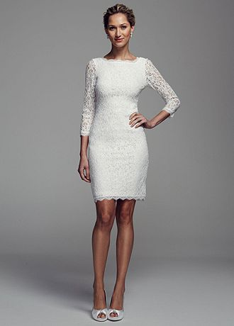 short sleeve lace wedding dress david s bridal sleeve lace wedding dress ebay 7357