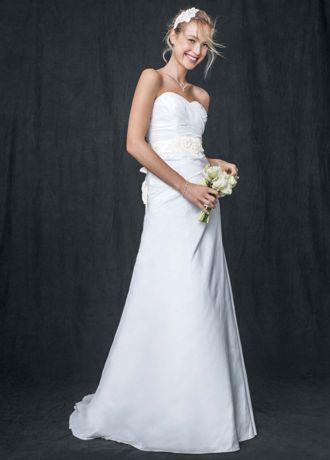 Taffeta A Line Gown with Sweetheart Neckline AI10042871