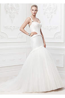 Truly Zac Posen Corset Seam Wedding Dress
